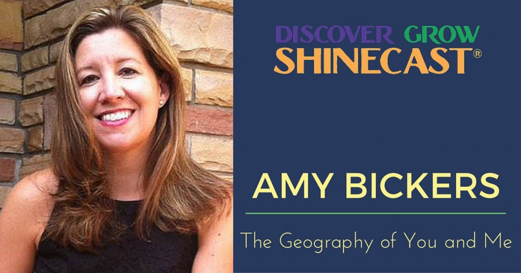 Amy Bickers is the guest on episode 2 of the Discover Grow Shinecast